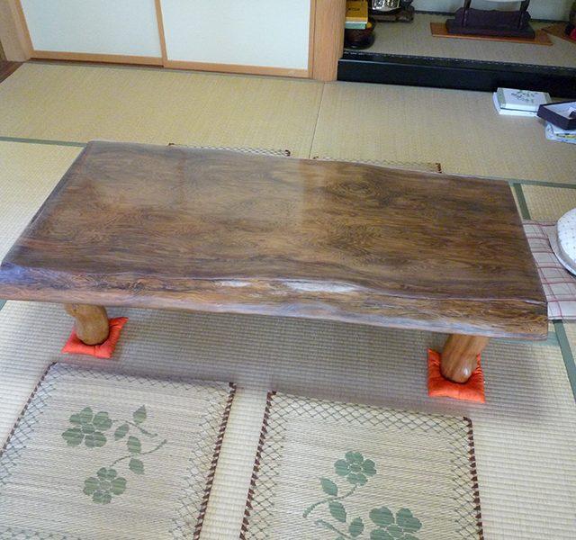 一枚板 神代杉テーブル