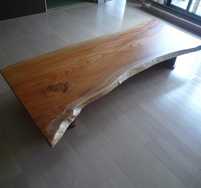 一枚板 欅テーブル