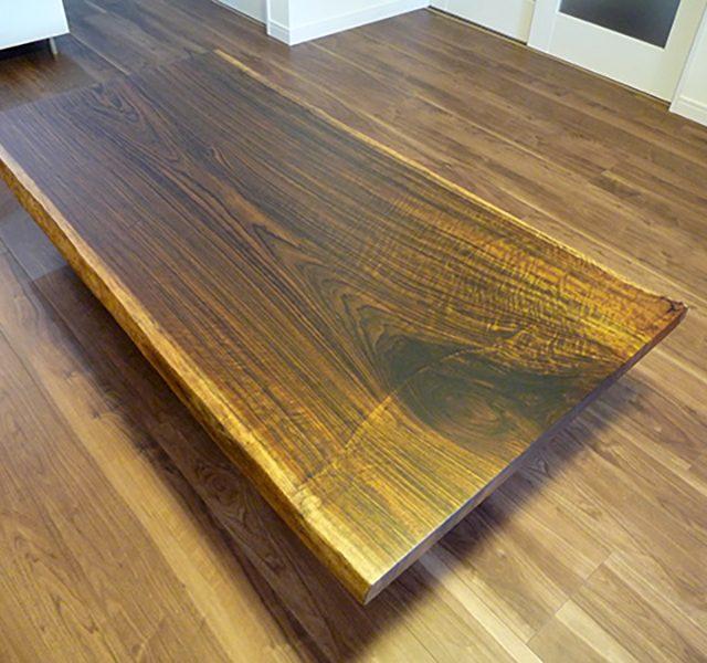 一枚板 オバンコール座卓テーブル