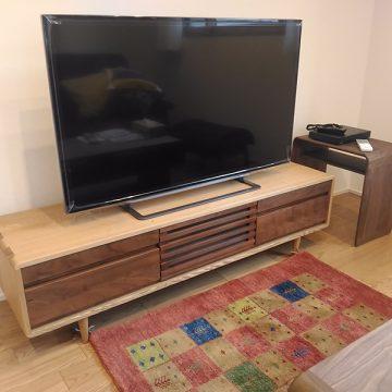 天然木テレビボード