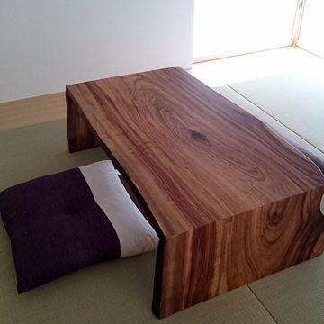 一枚板 楠テーブル
