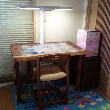 モンキーポッドの学習机
