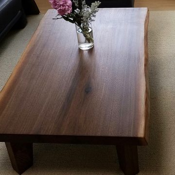 一枚板 ウォールナットテーブル