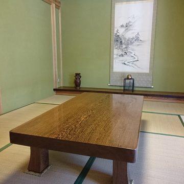 タガヤサン 一枚板テーブル