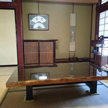 シャム柿 座敷テーブル