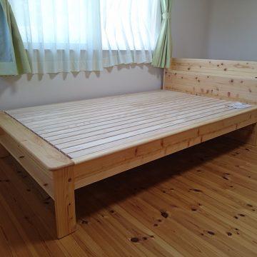 桧のベッド