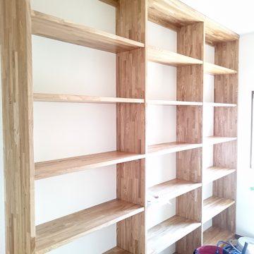 無垢の書棚