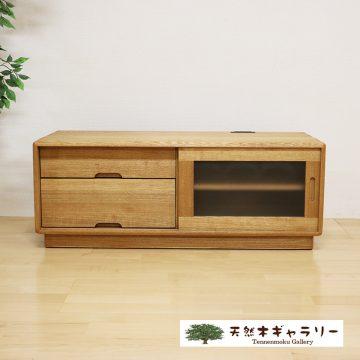 無垢のテレビボード タモ ソフト105