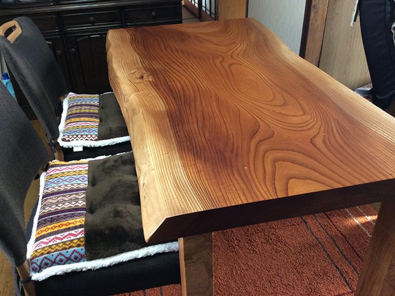 一枚板 ケヤキ テーブル