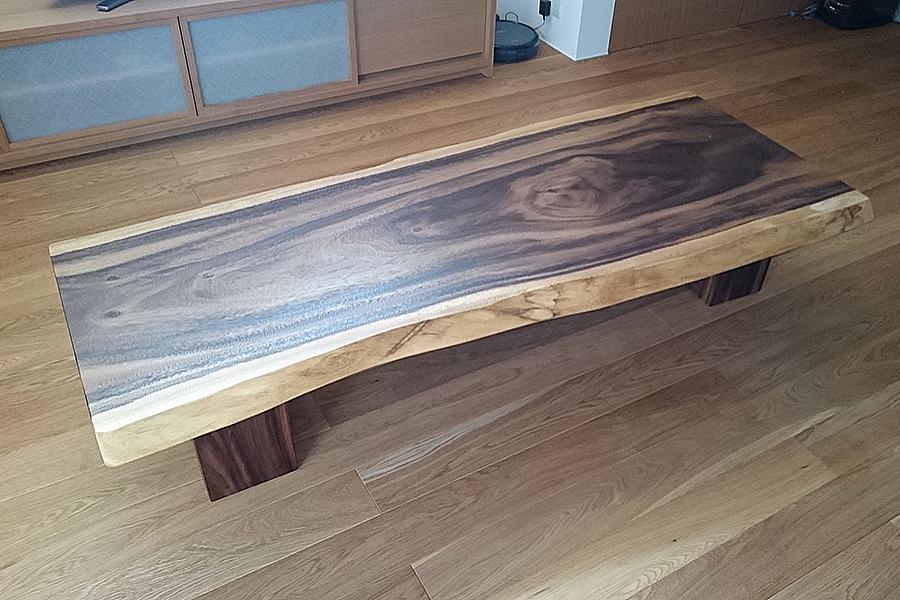 一枚板リビングテーブル