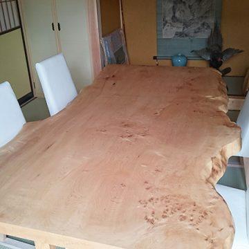一枚板 LDテーブルセット
