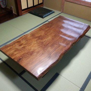 一枚板テーブル 屋久杉