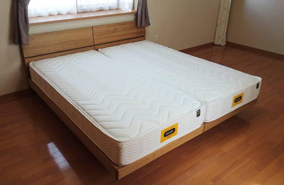 天然木無垢ベッド オーク