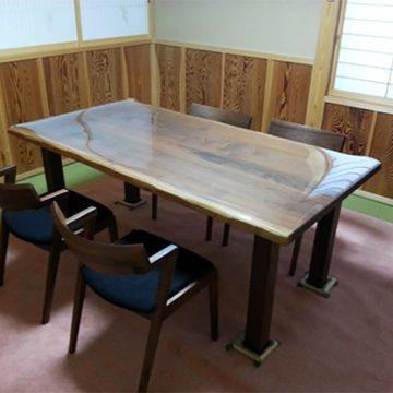 ウォールナット チェア テーブル