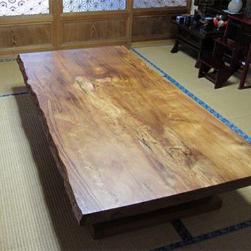 屋久杉 一枚板テーブル
