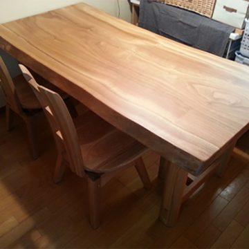 楠 ダイニングテーブル