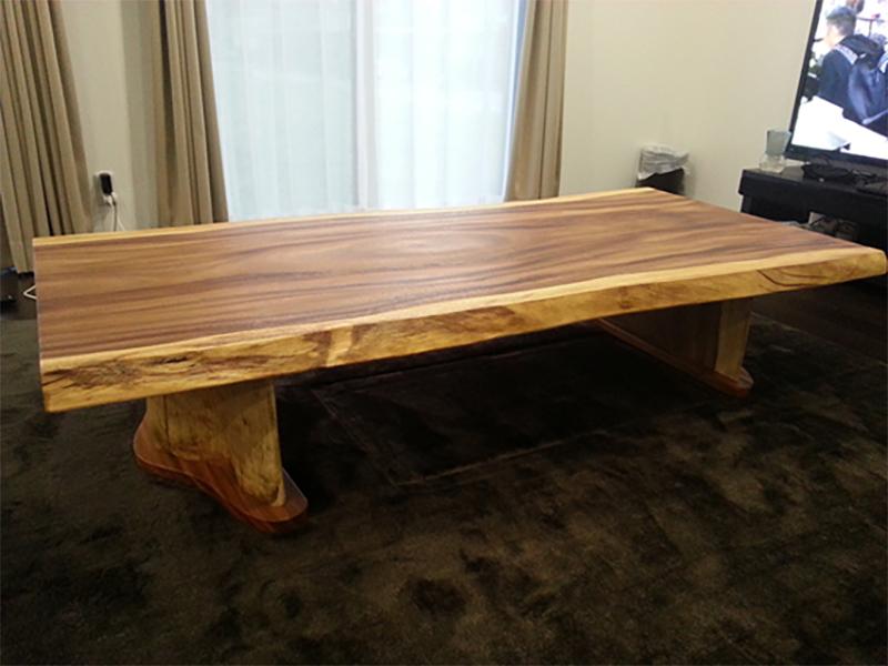 モンキーポッド 一枚板テーブル