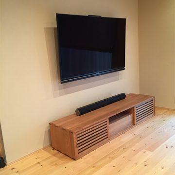無垢材 TVボード