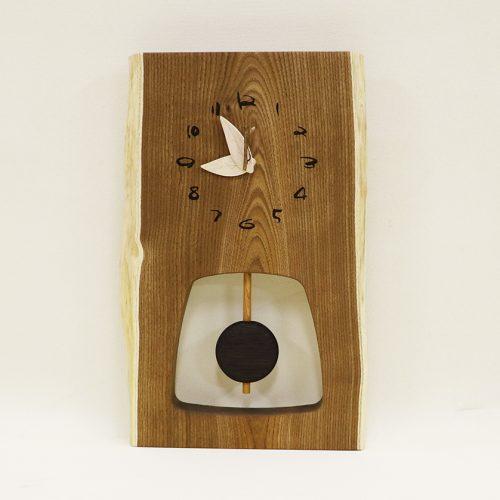 木の時計 森の振り子時計
