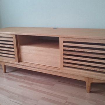 天然木 テレビボード
