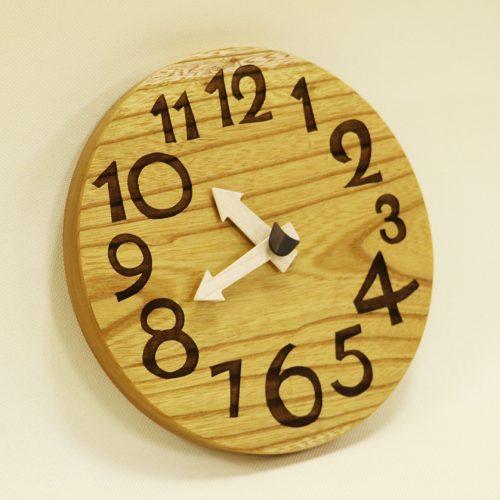 木の時計 nami 欅