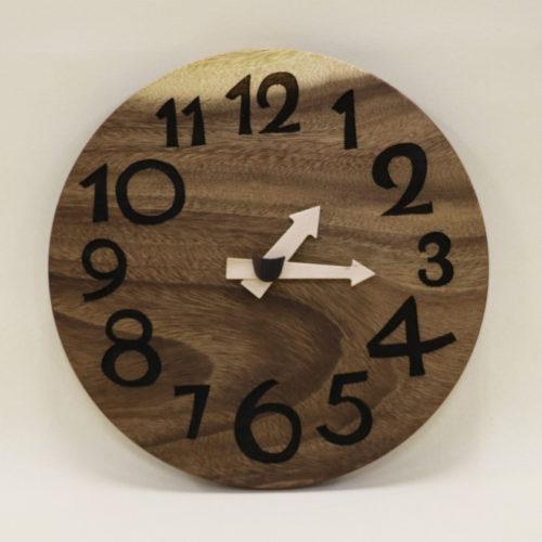 木の時計「DECCA(デッカ)」 モンキーポッド