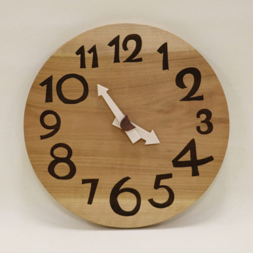 木の時計 さくら