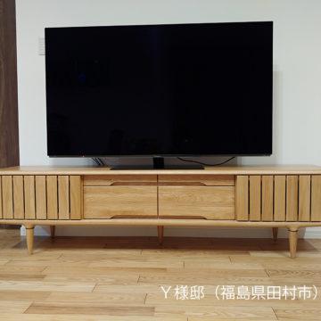 無垢のテレビボード MOKU180 オーク