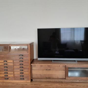 無垢のテレビボード