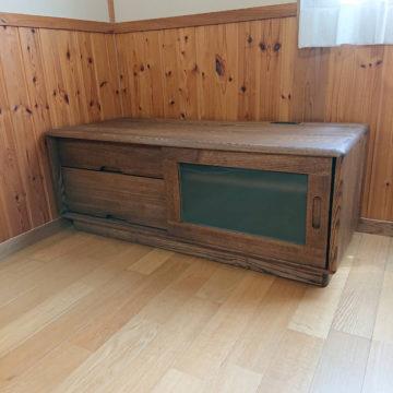 天然木のテレビボード