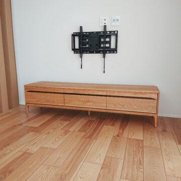 オーク無垢 テレビボード